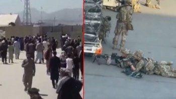 ABD askerleri ateş açtı! Kabil Havalimanı'nda kaos: 5 kişi öldü