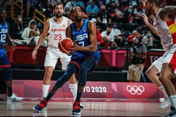 ABD, İspanya'yı devirerek yarı finale yükseldi