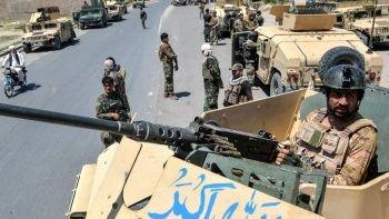 Afganistan'ı Taliban sardı çatışmalar şiddetleniyor