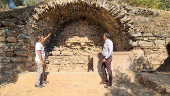 Aydın'da büyük keşif! Roma Dönemine ait Stadyum Çeşmesi bulundu