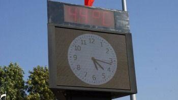 Aydın'da termometreler 44 dereceyi gördü