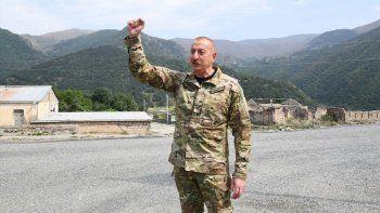 Azerbaycan Cumhurbaşkanı İlham Aliyev: Ermeniler doğal kaynaklarımızı yağmaladı