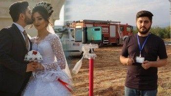 Azerbaycanlı gazetecinin meslek aşkı: Balayını bırakıp Türkiye'ye koştu
