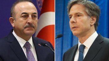 Bakan Çavuşoğlu ABD'li mevkidaşı Blinken ile Afganistan'ı görüştü