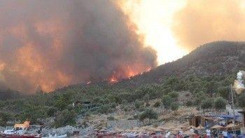Yangın bölgelerinde son durum: 5 ilde, 12 farklı nokta