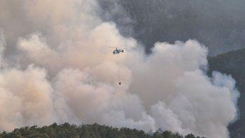 Bakan Pakdemirli: Ülkemizdeki büyük yangınların hepsini söndürdük