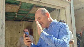 Bakan Soylu, Pençe- Şimşek Harekatı şehidinin ailesiyle görüştü