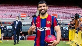 Barcelona'ya Sergio Agüero'dan kötü haber!