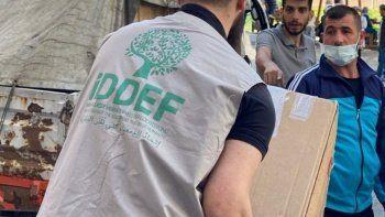Batı Karadeniz'deki afetzedelere destek