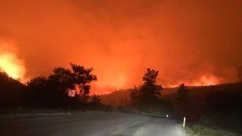 Yangınlarda son durum: 2 kentte alevler devam ediyor