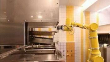 Bu restoranda insanlar değil robotlar çalışıyor!