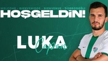 Bursaspor, Luka Capan transferini resmen açıkladı