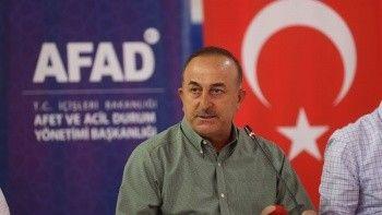 Çavuşoğlu: Manavgat'ta yangını yarın tamamen kontrol altına almayı hedefliyoruz
