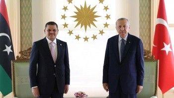 Cumhurbaşkanı Erdoğan'dan Libya Başbakanı ile kritik görüşme