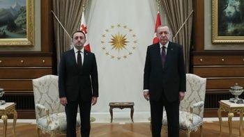 Erdoğan, Gürcistan Başbakanı ile görüştü