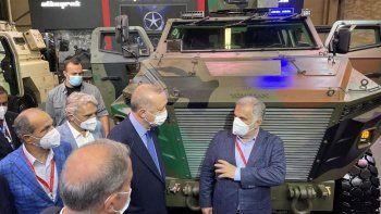 Cumhurbaşkanı Erdoğan, PUSAT Hibrit'i inceledi