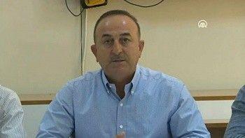 Dışişleri Bakanı Çavuşoğlu Antalya'daki yangınların bilançosunu açıkladı