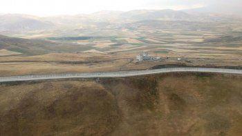 İran sınırına örülen duvarda son durum böyle görüntülendi