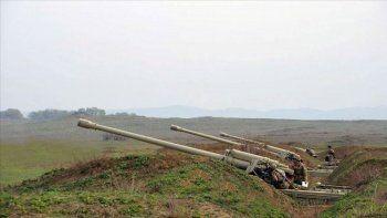 Ermenistan askerlerinden yine ateşkes ihlali! Azerbaycan mevzilerini vurdu