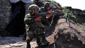 Ermenistan Azerbaycan askerlerinin mevzilerine ateş açtı