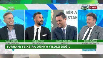 Eski Milli futbolcu Evren Turhan'dan çarpıcı yorum: Alex Teixeira Çin malı