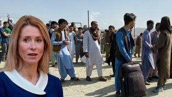 Estonya Başbakanı, '30 Afgan alabiliriz' sözleriyle alay konusu oldu