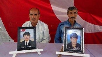 Evlat nöbetindeki acılı baba: PKK kaçırmıyor, HDP yolluyor