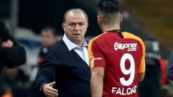 Fatih Terim'i kızdıran Falcao sorusu