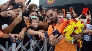 Galatasaray'a Giresun'da coşkulu karşılama