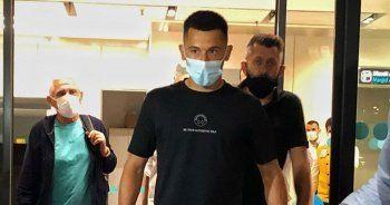 Galatasaray'ın yeni transferi Morutan, İstanbul'a geldi