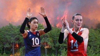 Güney Koreli voleybolcuların fidan kampanyasından 120 bin bağış