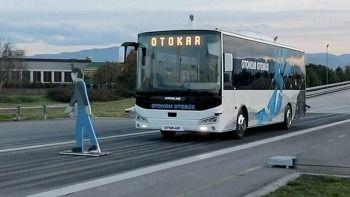İlk sürücüsüz otobüsten güzel haber: Testler başarıyla tamamlandı