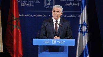 İsrail Dışişleri Bakanı Lapid: Benim başbakanlığımda 'iki devletli' çözüm olabilir