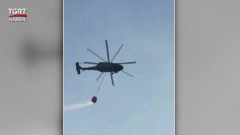 Jandarma'nın yeni başarısı: Sikorsky helikoptere su sepeti takıldı