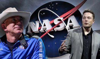 Jeff Bezos'un şirketi Elon Musk'la anlaşan NASA'ya dava açtı
