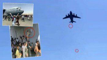 Kabil'den havalanan uçaktan düşen 2 Afgan kardeş çıktı