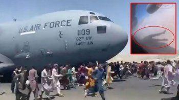 Kabil'den kalkan ABD uçağındaki insan kalıntıları hakkında soruşturma