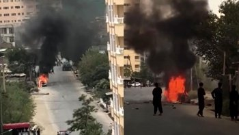 Kabil Havalimanı'ndaki roketli saldırıyı DEAŞ üstlendi