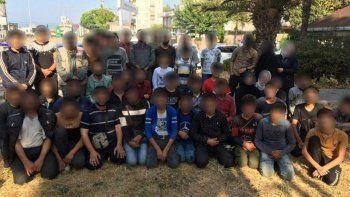 Kaçak göçmenler İstanbul'a ulaşamadan yakalandı