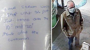 Kötü el yazısı yüzünden iki bankada soygun yapamadı!