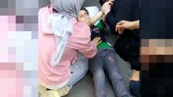 Lambayı kıran çocuk annesinin döveceğinden korkup balkondan atladı