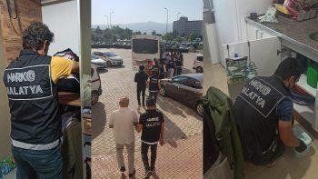 Malatya merkezli 5 ilde 'Kasırga' operasyonu: 50 gözaltı