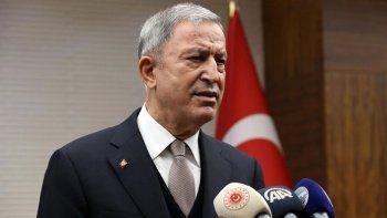 Milli Savunma Bakanı Hulusi Akar'dan Afganistan açıklaması