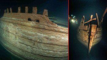 Neredeyse mükemmel durumdaki 400 yıllık batık geminin gizemi çözüldü