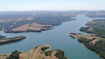 Ömerli Barajı'nda su oranı rekor seviyede: Son 10 yılın en yükseği