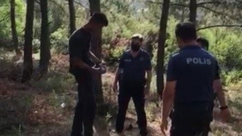 Orman yangını şüphelisi, başka bir ormanda tinerle yakalandı