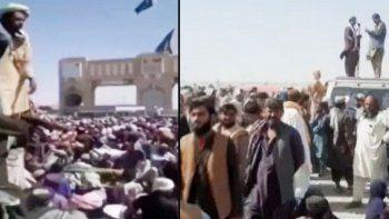 Pakistan sınırı Afganlarla dolup taştı