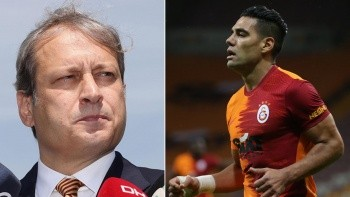 Radamel Falcao'dan Burak Elmas'a flaş yanıt! Son dakika transfer haberleri