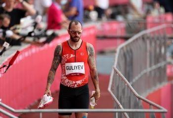 Ramil Guliyev, Olimpiyatlara veda etti