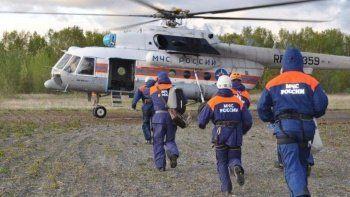 Rusya'da helikopter düştü: 8 kişi hayatını kaybetti